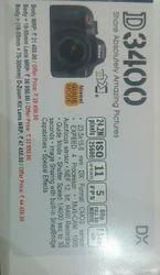 Nikon Black DSLR, D3400