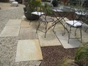 Mint Fossil Paving Slabs
