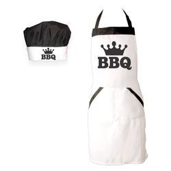 Contemporary White Kitchen Apron Promotional Custom Aprons Throughout Decorating