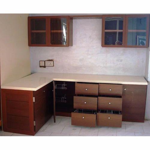 Laminated Modular Kitchen At Rs 1400 Square Feet: UPVC Modular Kitchen At Rs 1400 /square Feet