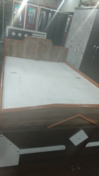 Plyboard Wooden Bed