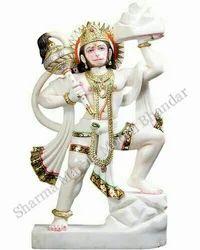 Marble Veer Hanuman Idol