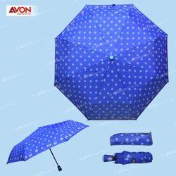 Royal Blue Printed Umbrella