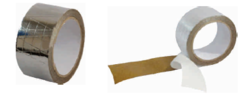 Aluminum Foil Scrim Kraft Tape 48mm x 20mtr
