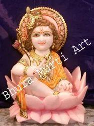 Marble Bal Krishna Statues