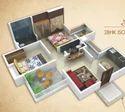 2 Bhk Isometric View Real Estate Developer