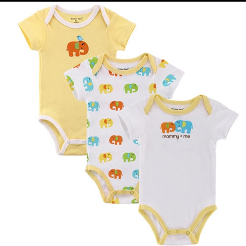 Cotton Baby Bodysuit Romper