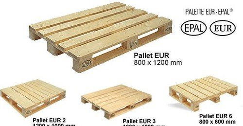 Bien connu Pinewood Pallets at Rs 700 /cubic feet | Euro Pallet - Shivam  HT38