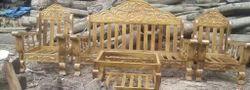Teek Wood Sofa