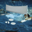 White Deluxe Splash Badminton