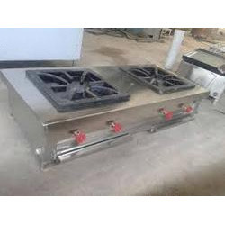 Two Burner Industrial Gas Stove