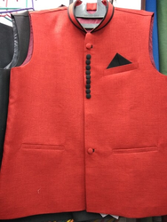 Red Suit Sleeveless