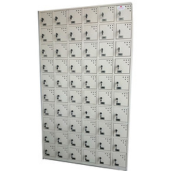 Mobile Phone Locker Having 60 Door