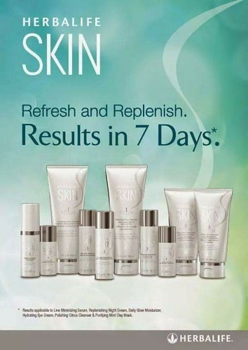 herbalife skin care products