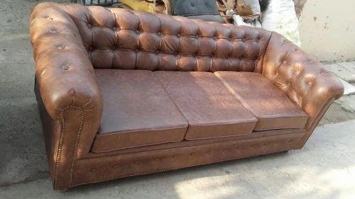 Designer Quilting Sofa Quilting Three Seater Sofa Manufacturer