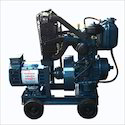 Bajaj-m 2 Kva Three Phase Portable Diesel Generator Set, Voltage: 440/220 V