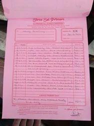 Bill Pad Printing