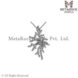 Beautiful 925 Sterling Silver Pure Diamond Charm