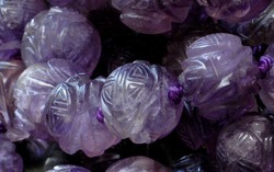 Amethyst Carved Beads