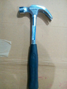 Claw Hammer Drop Forged Tubular Steel Shaft With Rubber Grip