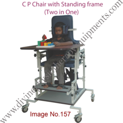 C P Chair with Standing Frame