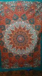 Hippie Wall Decor Tapestry