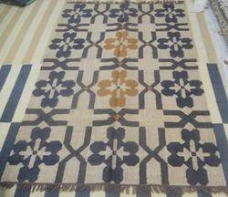 Handmade Handweave Flat Cotton Rug