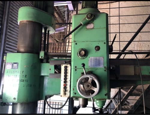 WMW Radial drilling machine