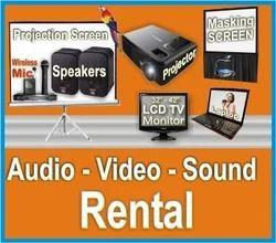 audio equipment rental in india. Black Bedroom Furniture Sets. Home Design Ideas