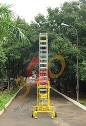 Zebrik Aluminum Ladder, Maximum Working Load: 180 kg