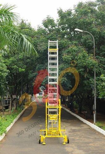 Zebrik Aluminum Ladder Maximum Working Load 180 Kg Rs