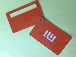 Double Card Luggage Tags
