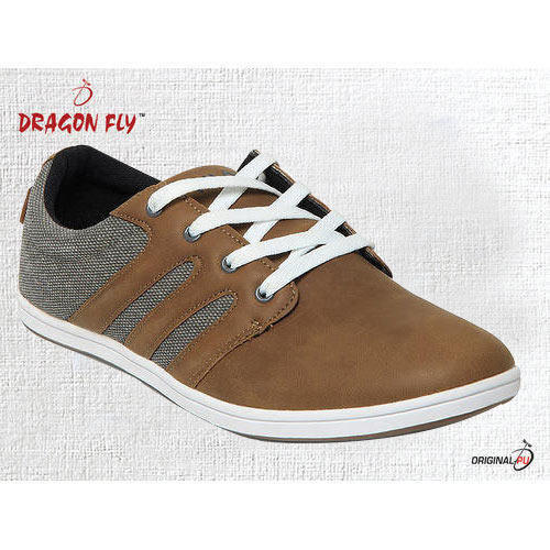 f03acd7b87c2 Daily Wear Brown Men Canvas Shoes