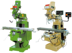 Turret Milling Machine, Table Size: 1350 X 254, Automation Grade: Semi-Automatic