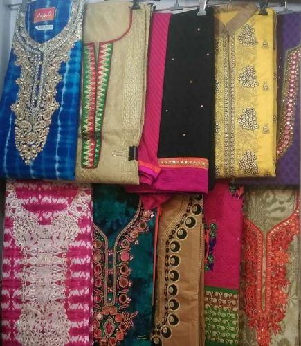 fe9d06e3c7 Georgette Unstitched Ladies Suits, Rs 550 /piece, Gurunanak Cloth ...