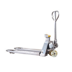 Stainless-steel Mobile Weighing Cart