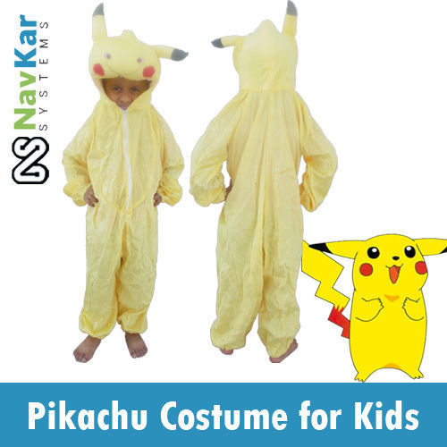 Pikachu Pokemon Cartoon Character Costume 4 Fancy Dress  sc 1 st  IndiaMART & Pikachu Pokemon Cartoon Character Costume 4 Fancy Dress ...