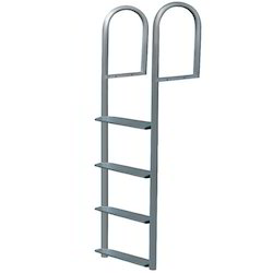 Aluminum Straight Hook Ladder