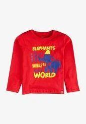 Kids V Neck T Shirts