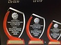 Crystal Trophy Printing Service