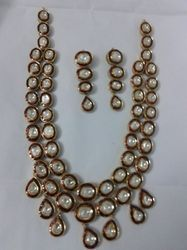 Royal Kundan Meena Necklace