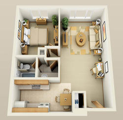 Studio Apartment In Noida furnished apartments noida & luxury studio apartment noida real