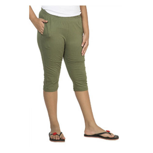Cotton Green Girl Kids Capri