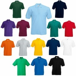 Cotton And Fabric Men Polo T Shirts