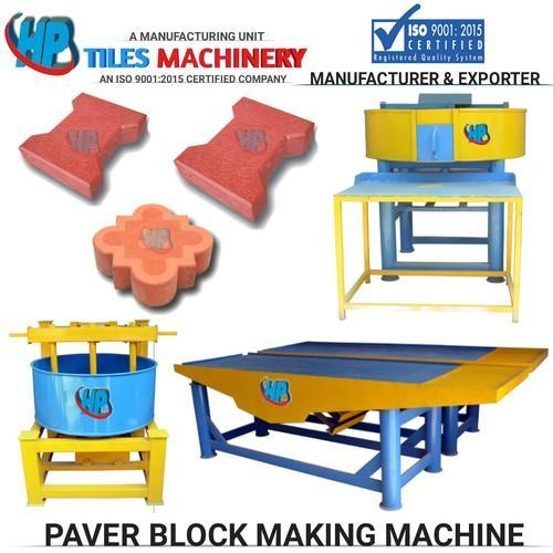 Manual Concrete Block Making Machine Warranty 3 Years