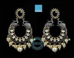 Kundan Designer Hanging Earring
