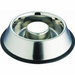 Embossed Steel Feed Bowls