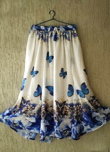 62970908e8 Ladies Bottom Wear - Fox Georgette ladies Bottom Wear Western Skirt  Wholesaler from Navsari