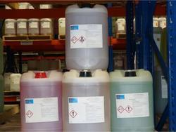 Chemical Processing Water Treatment Chemicals, Grade: Chemical Grade, Packaging Type: Plastic can