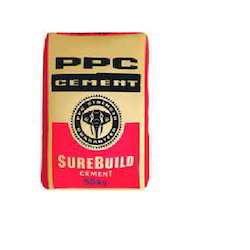 ppc OPC Cement, Grade: 43, Packaging Size: 50 Kg